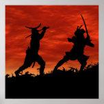 Samurai en duelo póster