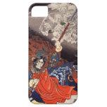 Samurai Fighting Demons iPhone 5 Cases