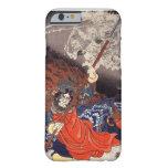 Samurai Fighting Demons iPhone 6 Case