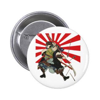 Samurai Flag Button