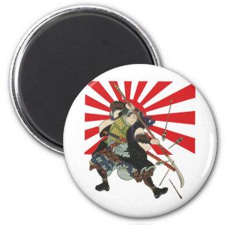 Samurai Flag Magnet