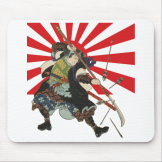 Samurai Flag Mousepad