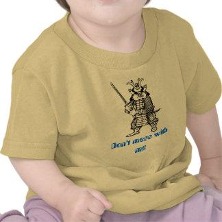 Samurai funny baby t-shirt