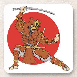 Samurai Getränke Untersetzer