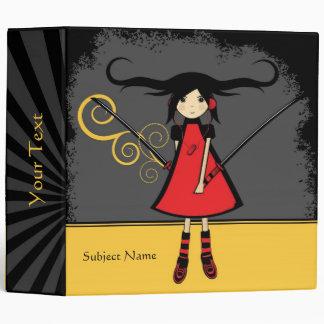 Samurai Girl School Binder