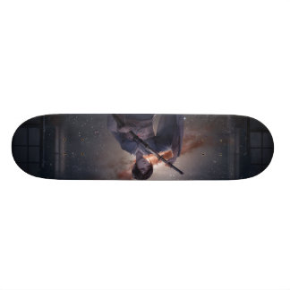 Samurai Girl Skateboard