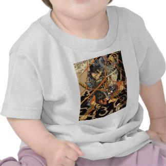 Samurai Grappling Monster T-shirt