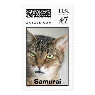 Samurai Head Shot 2, Samurai Postage