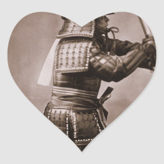 Samurai Heart Sticker