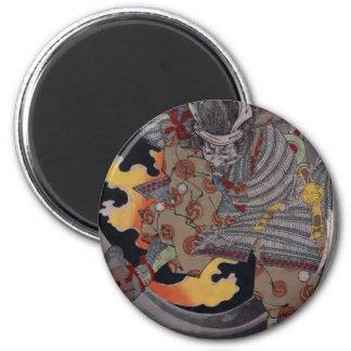 Samurai Hellfire Magnet