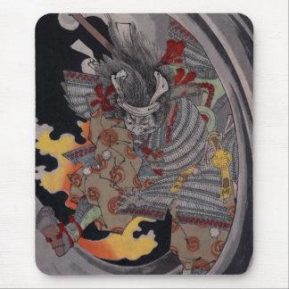 Samurai Hellfire Mouse Pad