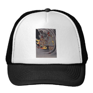 Samurai Hellfire Trucker Hat