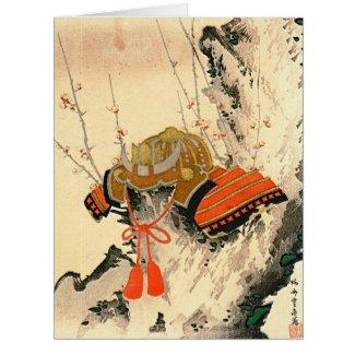 Samurai Helmet 1828 Card