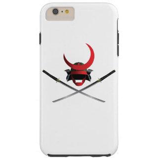 Samurai Helmet and Swords iPhone 6 Plus case