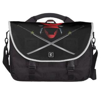 Samurai Helmet and Swords Bag For Laptop