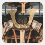 Samurai helmet, mid 14th century sticker