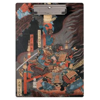Samurai Hero Minamoto no Yorimitsu Clipboard