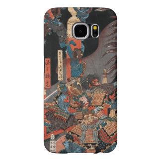 Samurai Hero Minamoto no Yorimitsu Samsung Galaxy S6 Cases