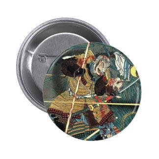 Samurai Hero Pinback Button