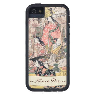 Samurai Hideyoshi and Wives Kitagawa Utamaro iPhone SE/5/5s Case