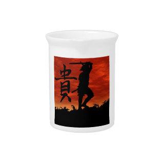 Samurai Honor Drink Pitchers