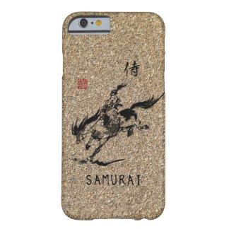 Samurai horseback young warrior-art barely there iPhone 6 case