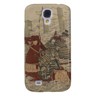Samurai in Armor on Horse with Bow and Arrows Galaxy S4 Case