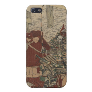 Samurai in Armor, on Horse with Bow and Arrows Case For iPhone SE/5/5s