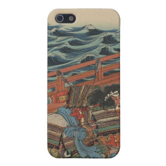 Samurai in Armor, Shot by Arrows on Boat c. 1844 Case For iPhone 5