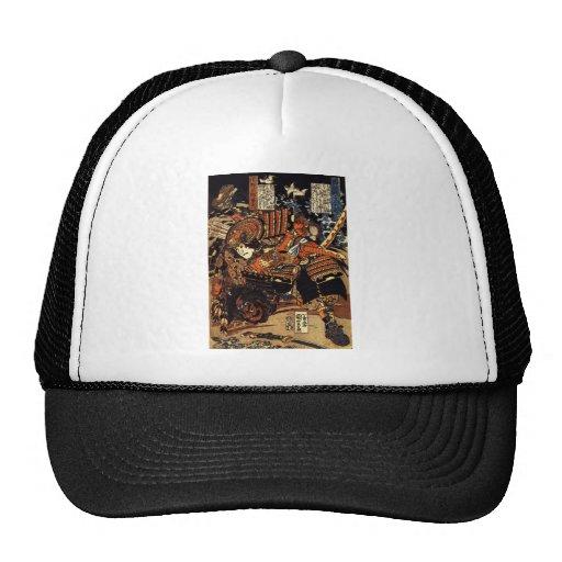 Samurai in Combat, circa 1800's Trucker Hat