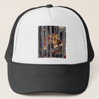 Samurai in rain, circa 1800's trucker hat