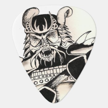 Samurai Ink Guitar Pick by UndefineHyde at Zazzle