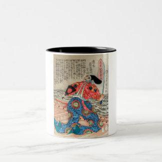 Samurai IX Two-Tone Coffee Mug
