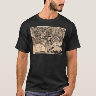 Samurai Japanese Painting c. 1800's T-Shirt