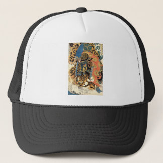 Samurai Japanese Painting c. 1800's Trucker Hat