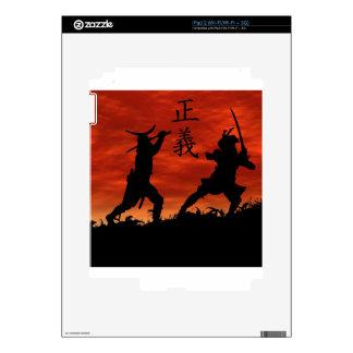 Samurai Justice iPad 2 Skins