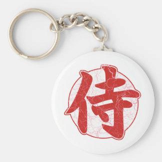 Samurai Keychain