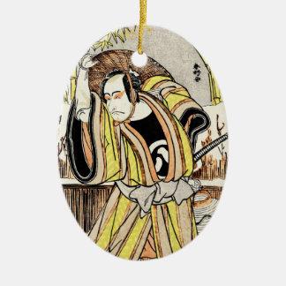 Samurai legendario japonés oriental fresco del adorno para reyes
