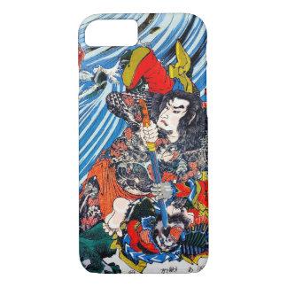Samurai legendario japonés oriental fresco del funda iPhone 7