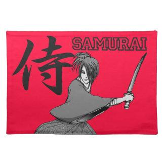 SAMURAI manga japan Place Mat