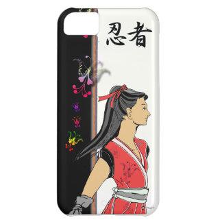 SAMURAI MANGA NINJA GIRL iPhone 5C CASE