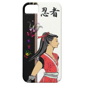 SAMURAI MANGA NINJA GIRL iPhone SE/5/5s CASE