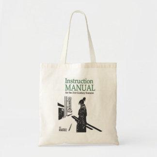 Samurai Manual Small Tote Bag