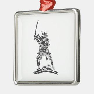 Samurai Metal Ornament
