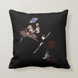 Samurai Ninja de Sukiyaki del arreglo de cuentas d Cojines