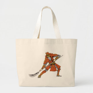 Samurai ~ Ninjas Martial Arts Warrior Fantasy Art Canvas Bag