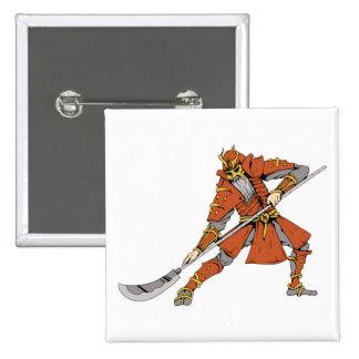 Samurai ~ Ninjas Martial Arts Warrior Fantasy Art Pins