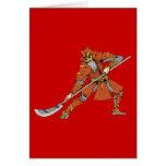 Samurai ~ Ninjas Martial Arts Warrior Fantasy Art Greeting Card