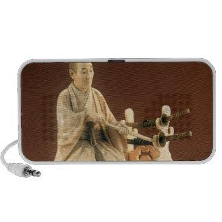 Samurai, Okinomo, período de Edo Laptop Altavoz