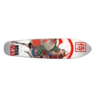 samurai on horse back skate deck